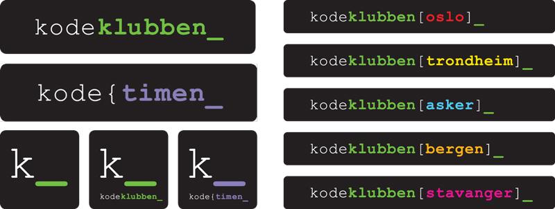 Kodeklubben logoer