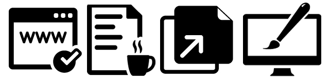 Publishing icons