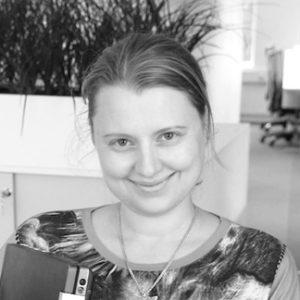 Darija Sapozenkova-Hauge, senior interaksjonsdesinger i Ciber (Experis). blog.darijasart.com