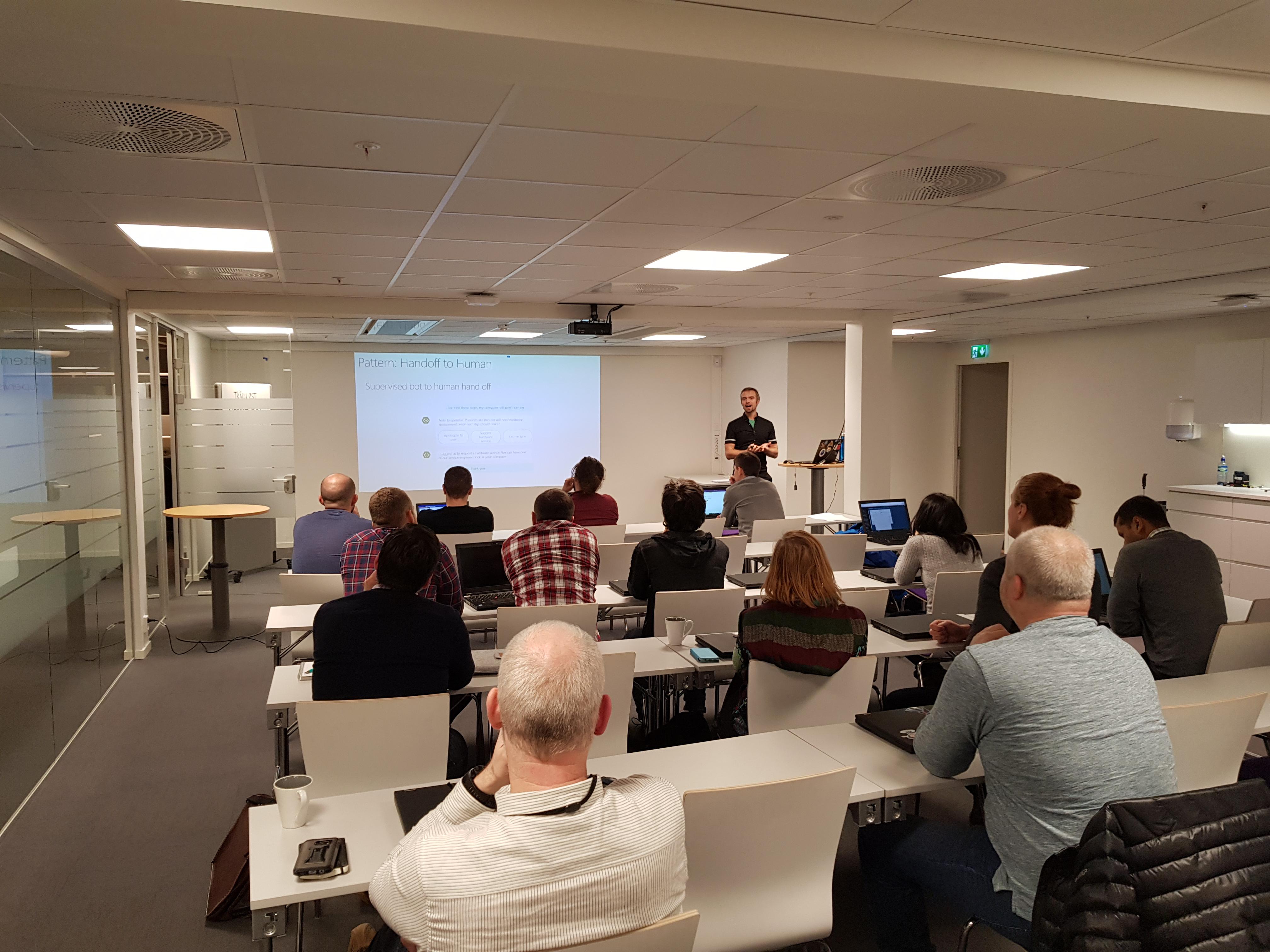 Bilde av ny tech samlingen i CIber